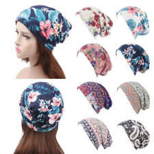 headwear Ruffle headscarf Cancer Chemo Hat Head Wrap Cap Women Turban Elastic