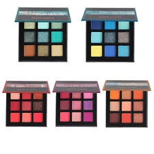 Beauty Glazed Makeup Palette 9 Colors Shadow Metal Matte Shimmer Eyeshadow PC