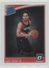 2018 Panini Donruss Optic 199 Rated Rookies Gary Trent Jr Jr. RC Basketball Card