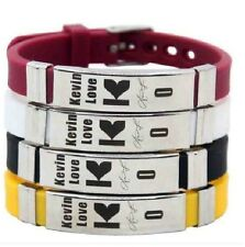 Kevin Love Basketball Bracelet Silicone Stainless Steel adjustable Wristband