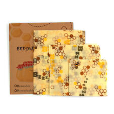 Beeswax Food Wraps Food Covers Reusable Eco-Friendly Wash Wrap Stretch lids
