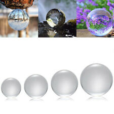 50/100/120/150mm K9 Crystal Photography Lens Ball Photo Prop Background Decor