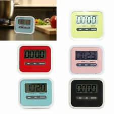Hoomall® LCD Digital Screen Kitchen Timer Cooking Count Up Countdown Loud Alarm