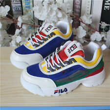 FILA Womens Disruptor II 2 Sneakers Casual Athletic Increas Walking Sports Shoes
