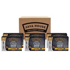 Java House Cold Brew Colombian Coffee 36 to 144 K cups Pick Size FREE SHIPPING