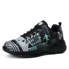 Mens Fashion BasketBall Athletic Shoes Breathable Hiking Sneakers shoes Big Size