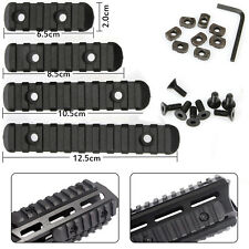 1set of M-Lok 5/7/9/11 Slot Picatinny/ Weaver Rail Handguard Section 2.5cm