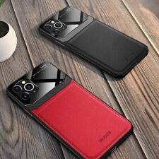 Leather Hybrid Case For iPhone 11 Pro XS Max XR XS 8 7 Plus 6s Luxury Thin Cover