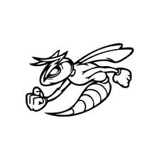 Bee Strong - Vinyl Decal Sticker for Wall, Car, iPhone, iPad, Laptop