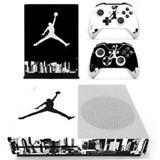 Sticker Skin Sticker for Xbox One S Console and Controllers Basketball
