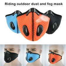 Dust Wind Proof Filter Honeycomb Half Face Mask Outdoor Cycling Running JC