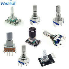 5PCS EC11 KY-040 Digital Push Button Switch Rotary Encoder Push Switch 10-20mm