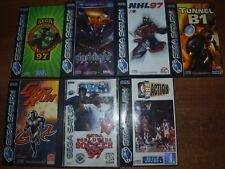 video gioco retro game pal ita sega Saturn scegli gioco choose game unica sped