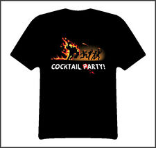 Left 4 dead video game cocktail party fun shirt Black