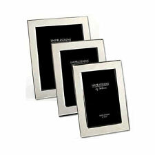 Personalised Silver Plated Photo Frame Engraved Free