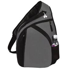 """""""Cross"""" Laptop Mono Strap Backpack,Webbed/mesh carrying"""