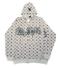 LA Los Angeles White Hoody Hooded Top
