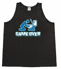 Game Over Funny Beer Pong Mens Tank Top Muscle t-shirt