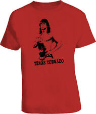 Kerry Von Erich Texas Tornado Wrestling T Shirt Red