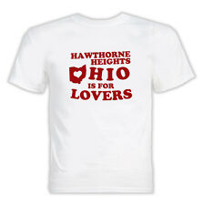 Hawthorne Ohio is for Lovers Heights Cool White T Shirt