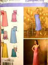 Reduced!  Simplicity 4217 OOP Misses Special Occasion Top & Skirt Pattern