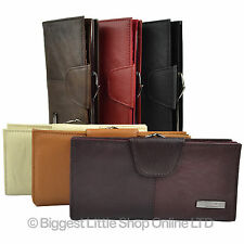 *Ladies Leather Purse Cowhide TOP QUALITY in 6 Colours*