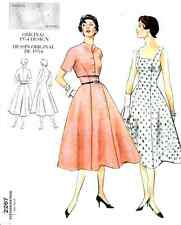 VOGUE 2267 VINTAGE 1954 DRESS & BOLERO JACKET Pattern