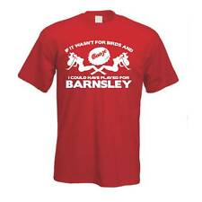 Birds & Booze Barnsley Football FC T Shirt