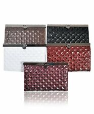 Large Diamond Quilt Pattern PURSE in 5 Colors (PUR1101)