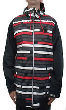 BRAND NEW WITH TAGS Nomis Hoody Snowboard Jacket BLACK TRON MEDIUM LARGE LIMITED