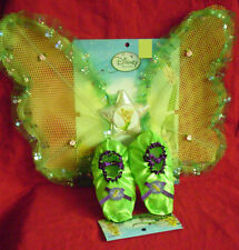 NEW DISNEY TINKERBELL FAIRY WINGS SET PRINCESS COSTUME