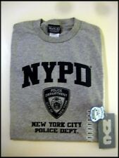 Licensed NYPD T-Shirt Tee in Gray in All Sizes