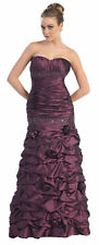 EVENING SWEET 16 PROM GOWN ENGAGEMENT SPECIAL OCCASION PARTY DRESSES & PLUS SIZE