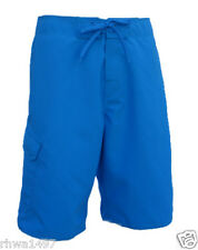"UN92 MB01TQ, Turquoise, Solid 22"" Board Shorts."