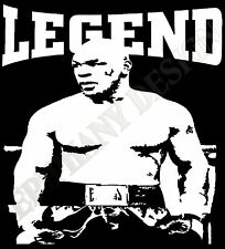 Mike Tyson Homage T-Shirt Iron Mike Tyson Legend Boxing