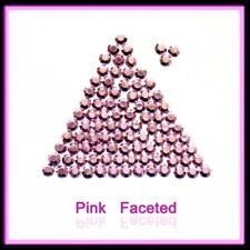 WholeSale Pink Hotfix Rhinestuds faceted, size 2,3,4mm