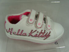 HELLO KITTY KIDS TRAINERS (SPARKLE) WHITE/PINK