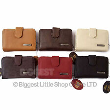 New Ladies TOP Quality LEATHER PURSE/Wallet/Coin Womens