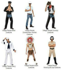 New Adult Official Village People Halloween Costume