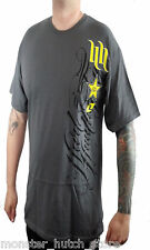 BRAND NEW WITH TAGS HART & HUNNINGTON Rockstar Tee GREY MEDIUM-XXLARGE LIMITED