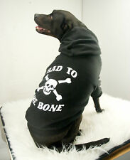 BAD TO THE BONE Dog Hoody Pirate BIG SIZES XXL to 5XL