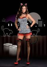 Dreamgirl Sultry Stray Sexy Kitty Costume ~ Role Play