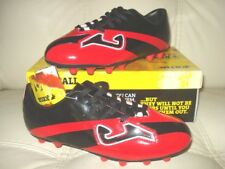 SALE! NEW JOMA SOCCER FUTBOL FOOTBALL CLEATS RED SPIKES MEN & YOUTH SIZES
