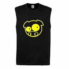 SOLBERG PIG RALLY VEST MUSCLE TOP SLEEVELESS T SHIRT