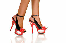 Highest Heel Collection - Envy-31 - Black & Red Patent