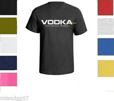 Funny Adult Humor  T-shirt Vodka Connecting People M - 2XL @ Many Colors