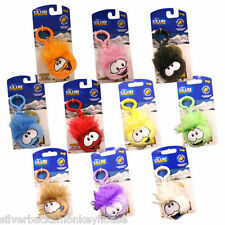 Disney Club Penguin Clip On Keyrings + Coin Code - All Colours - You choose
