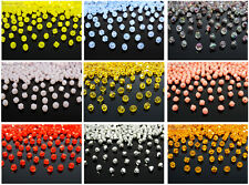 Freeshipping 100Pcs Top Quality Czech Crystal Faceted Bicone Beads 3mm Pick