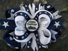 DALLAS COWBOYS CHOOSE YOUR IMAGE BOTTLECAP HAIRBOW