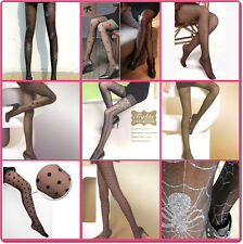 Fashion Sheer Tights Various Pattern Pantyhose Stocking 12 Denier